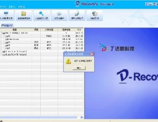 D-Recovery 1.2 达思数据恢复标准注册版 文件分区表恢复软件