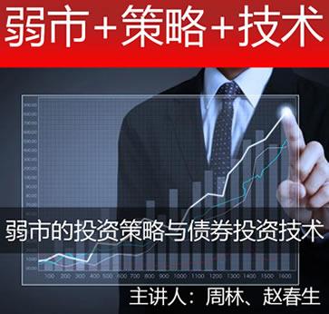 《弱市的投资策略与债券投资技术》股票视频教程