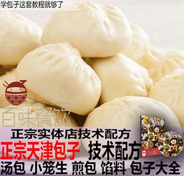 上百种包子的详细做法 天津包子配方技术大全 汤包小笼生煎包馅料