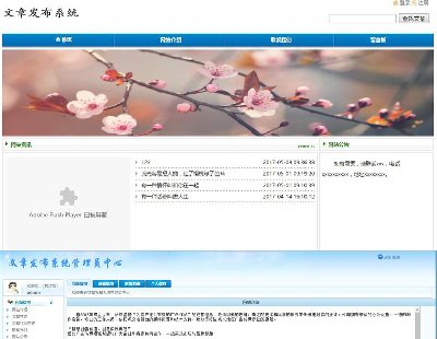 3369-java 文章发布系统的设计与实现 mysql数据库 jsp